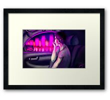 Electric City. Framed Print