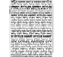 Harry Styles - Fonts iPad Case/Skin