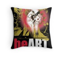 heART is love Throw Pillow