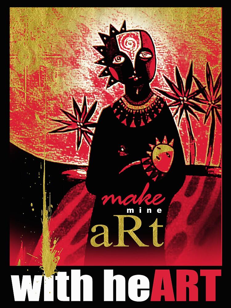 make mine art with heART by arteology