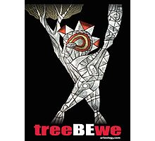 tree be we Photographic Print