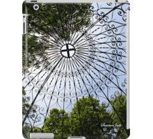 Overhead ~ Inside the Temple of Love iPad Case/Skin