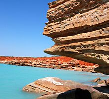 Blue Sky, Red Earth, and the water is perfect! by Matthew Reid