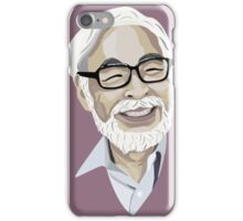 Hayao Miyazaki iPhone Case/Skin