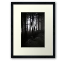 Anybody there? Framed Print