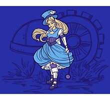Steampunk Alice - Revised Photographic Print