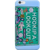Hookipa Lookout Sign iPhone Case/Skin
