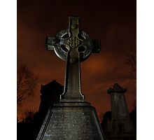 Glasnevin Cemetery Photographic Print
