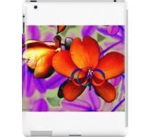 Tangerine Petals iPad Case/Skin