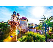 Prince Eric's Castle Photographic Print