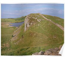 Hadrian's Wall: Looking Back to Highshield Crags Poster