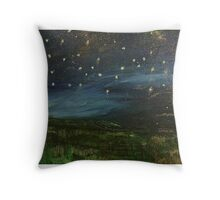 Starry Starry Ignite  Throw Pillow