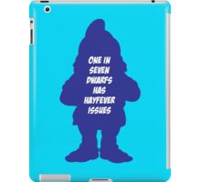 1 in 7 dwarfs has hayfever issues iPad Case/Skin
