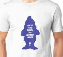 1 in 7 dwarfs has hayfever issues Unisex T-Shirt
