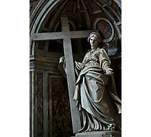 Mary bears a Cross Photographic Print