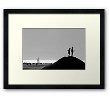 Two in Venice Framed Print