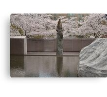 The Memorial to Japanese-American Patriotism in World War II - Washington D.C. Canvas Print