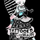 Tattooed Beauty by Miss Cherry  Martini