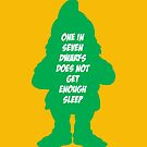 One in 7 dwarfs does not get enough sleep by monsterplanet