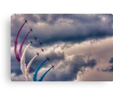 Red, White and Blue Canvas Print