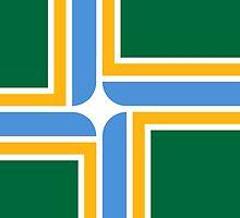 Flag of Portland, Oregon by abbeyz71