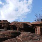 Rock Columns  by Anita Schuler