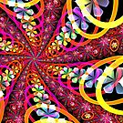 rings of flowers by LoreLeft27