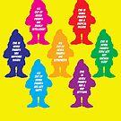 7 dwarfs by monsterplanet