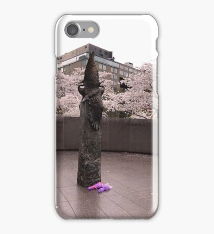 The Memorial to Japanese-American Patriotism in World War  II  iPhone Case/Skin
