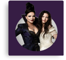 Regina & Snow - Once Upon A Time Canvas Print