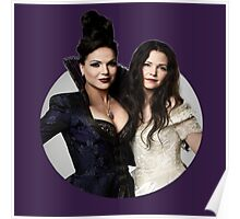 Regina & Snow - Once Upon A Time Poster