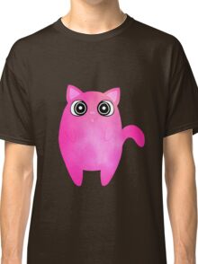 Tubby Pink Cat Classic T-Shirt