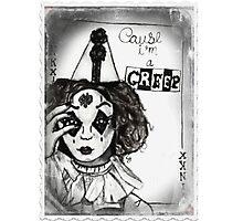 "Jinkx Monsoon- ""Creep"" Joker Card Photographic Print"