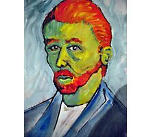 Portrait of Vincent Van Gogh Photographic Print