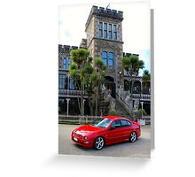 2000 AU XR8: NZ Falcon & Fairlane Car Club Nationals 2015 Greeting Card