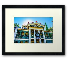Haunted Mansion Holiday Framed Print