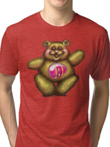 Easter Bear Tri-blend T-Shirt