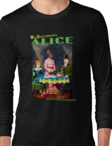 Max Scratchmann's ALICE - The Mad Hatter's Tea Party Long Sleeve T-Shirt