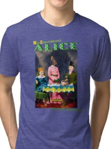 Max Scratchmann's ALICE - The Mad Hatter's Tea Party Tri-blend T-Shirt