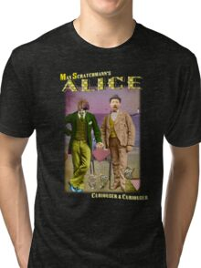 Max Scratchmann's ALICE - The Walrus & the Carpenter Tri-blend T-Shirt