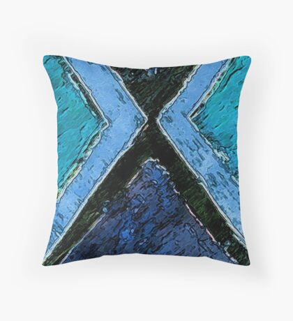 Abstract Voyage Throw Pillow