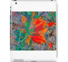 Stamen Green iPad Case/Skin