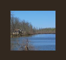Mississippi River stilt house ghost town Unisex T-Shirt