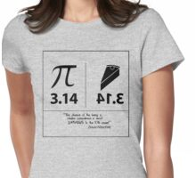 The odds of Pi...according to Isaac Newton! Womens Fitted T-Shirt