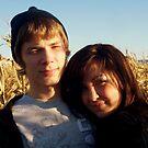 Love In The Corn Fields by funkyfacestudio