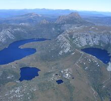 Cradle Mt - aerial views - Tasmania by gaylene