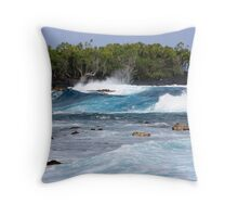 High Surf Throw Pillow