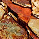 Rusty Ol' Rocks by Kathleen Daley