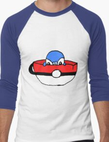 piplup in a cup Men's Baseball ¾ T-Shirt