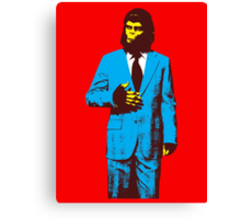 Planet of the Apes, dressed for success Canvas Print